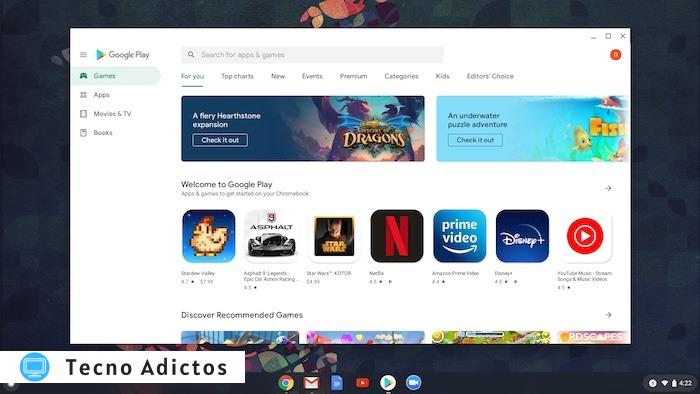 Utilice Zoom Chromebook Play Store