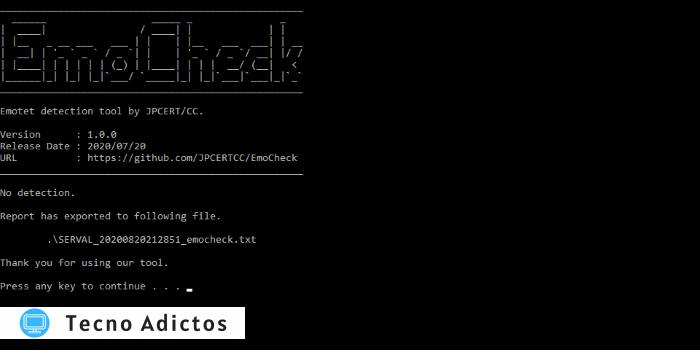 Emotet Check Emocheck