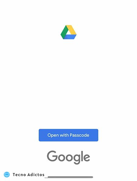Secure Google Drive Open