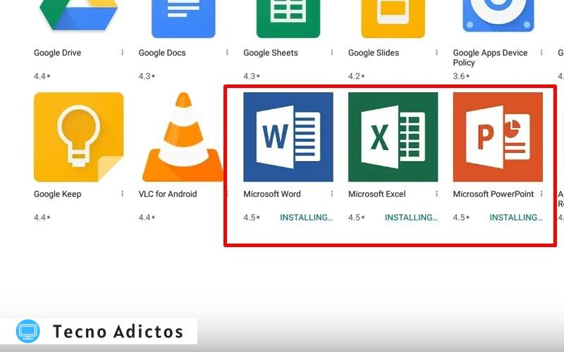 Microsoft Office para Chromebook 2