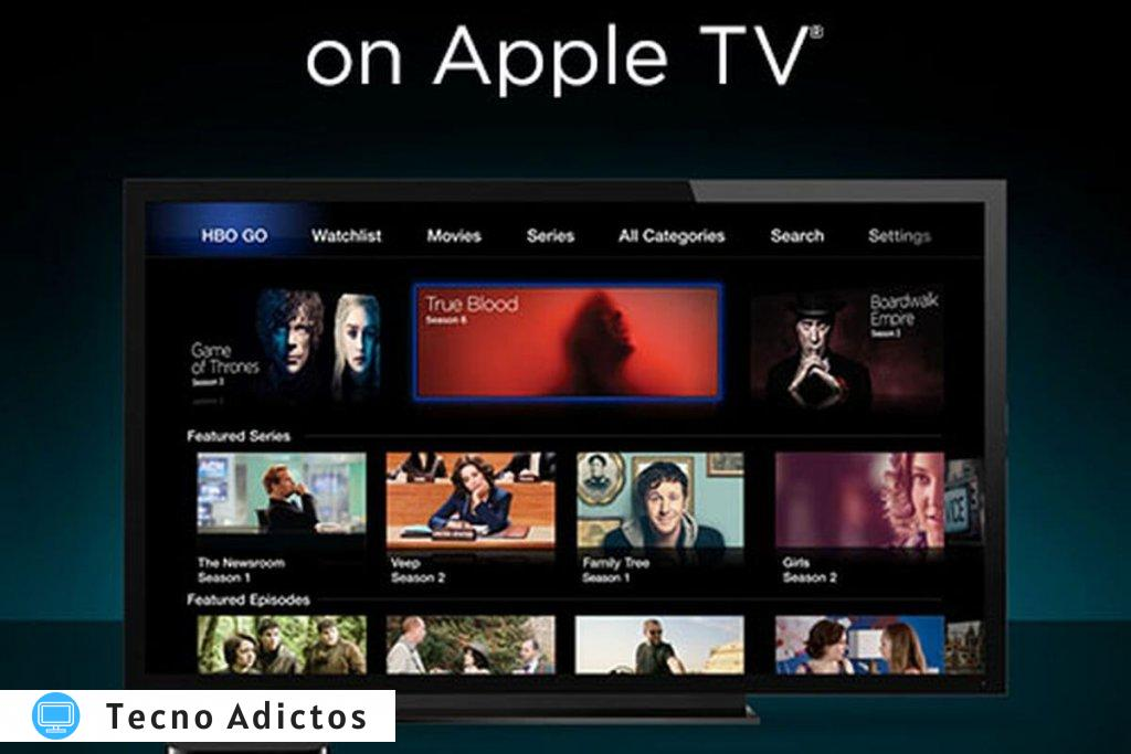 Activar hbo go en apple tv