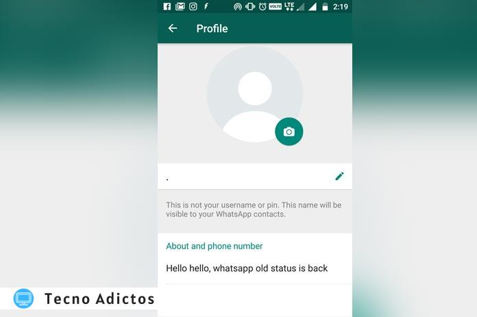 How To Set Up Old Status On Whatsapp