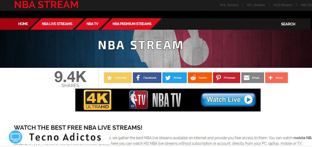 Nbastream.net