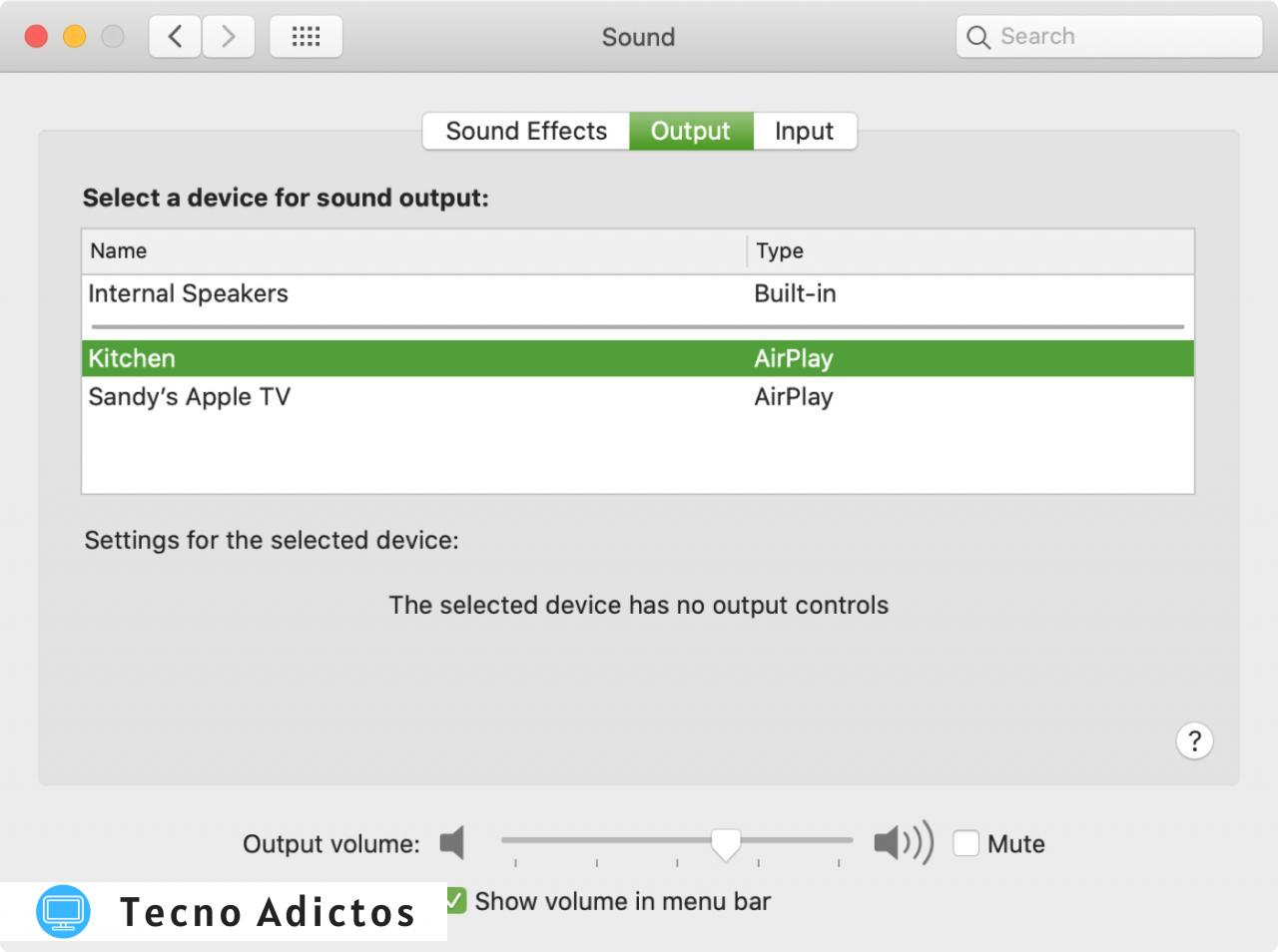 Siri Volumen Altavoz AirPlay Mac