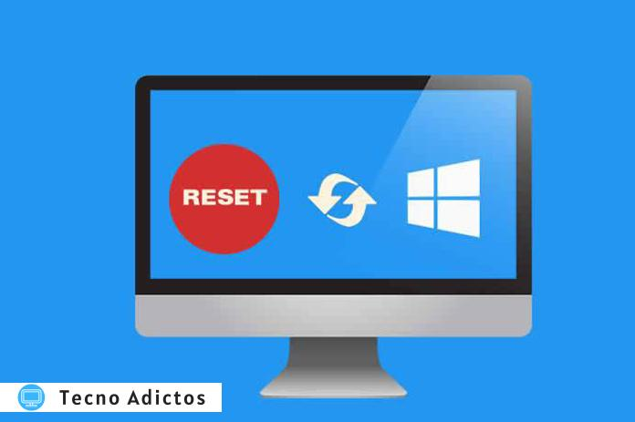 how to factory reset windows 7 8 10 without password