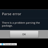 there is a problem parsing the package 1