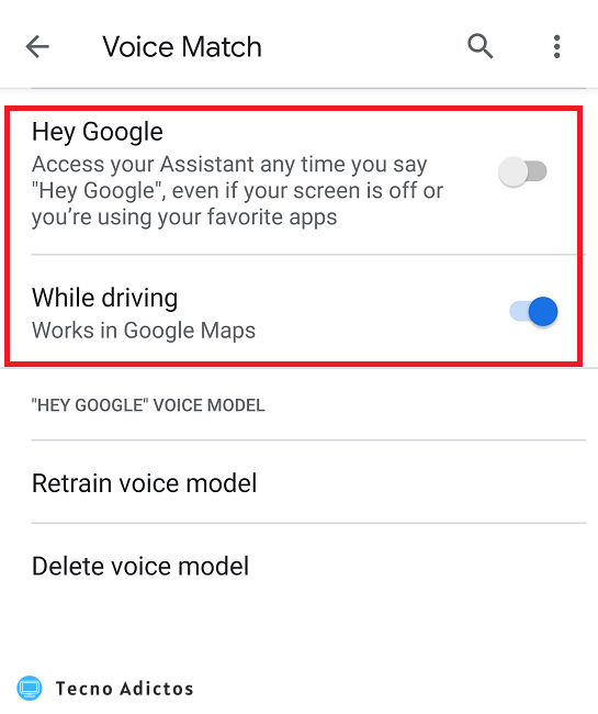 Cómo activar y desactivar Ok Google en Android On Off