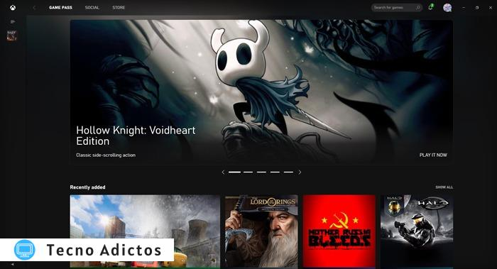 Windows Store no funciona Aplicación Xbox