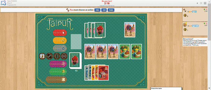 Juegos de mesa Boardgamearena