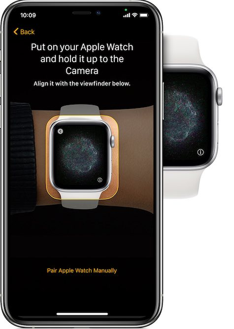 Cambiar la pantalla de configuración del Apple Watch Iphone