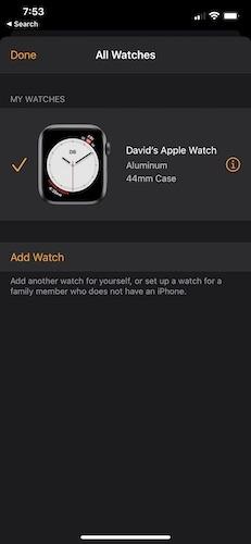Cambiar Apple Watch Iphone Desvincular Watch