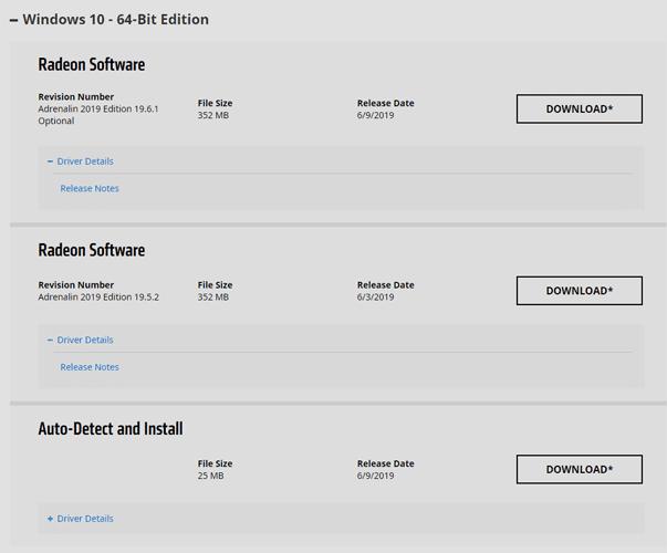 Actualizar controladores de gráficos Amd Descargar controlador
