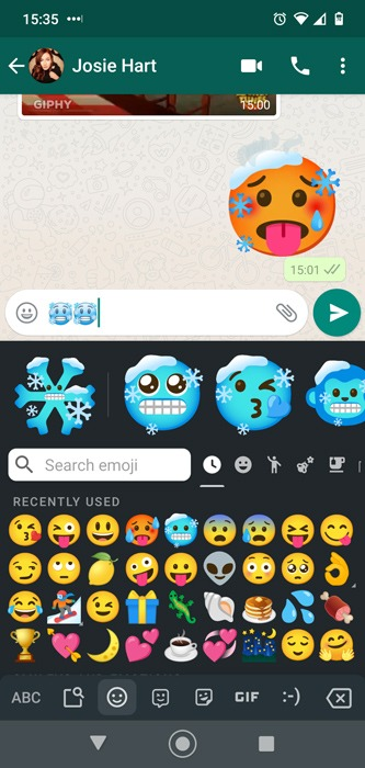 Android Emoji Combos Gboard Icycle