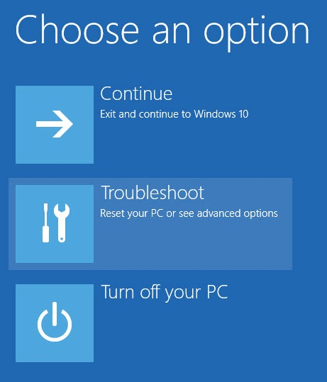 win10-install-unsigned-drivers-select-troubleshoot