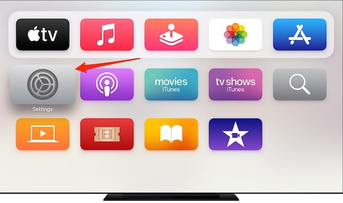 Adición de la configuración de TV del proveedor de televisión de Apple