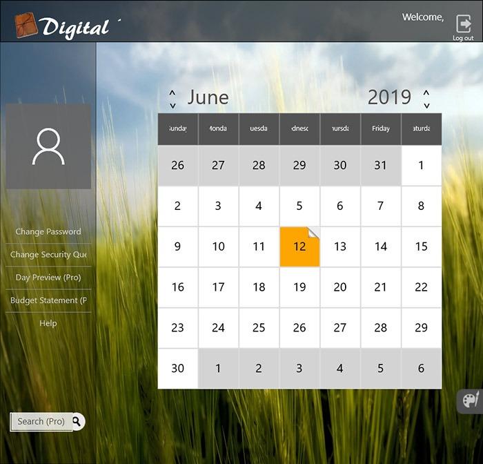 Diario digital de aplicaciones de diario