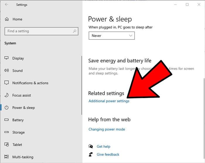 Cosas que hacer Nueva configuración de energía adicional de SSD