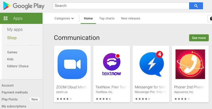 Utilice Android Phone Mouse Mac Play Store