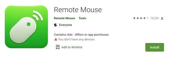 Usar Android Phone Mouse Mac Play Store Resultados