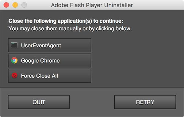eliminar la fuerza del flash