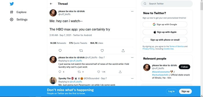 How To View Twitter No Account View Comments Post