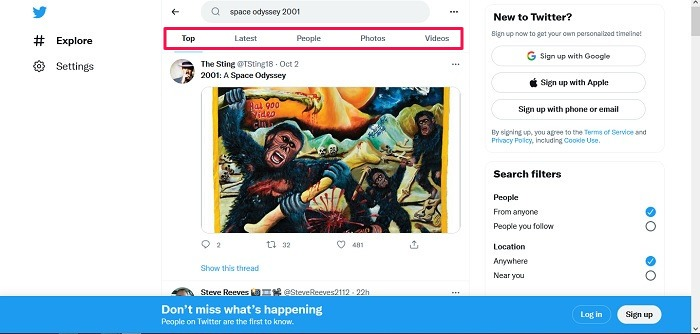 How To View Twitter No Account Search Twitter